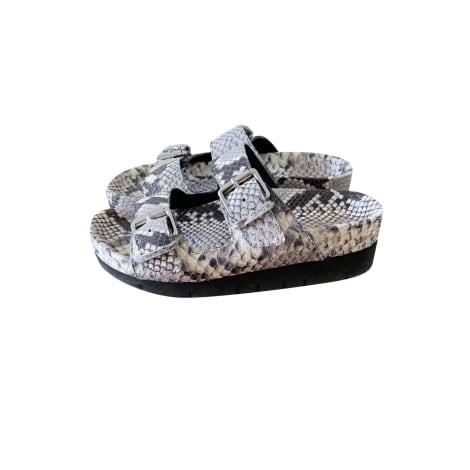 Flat Sandals ASH Animal prints