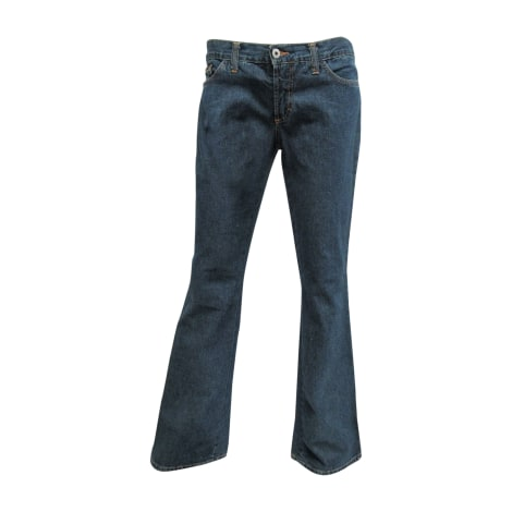 Jeans évasé, boot-cut D&G Bleu, bleu marine, bleu turquoise