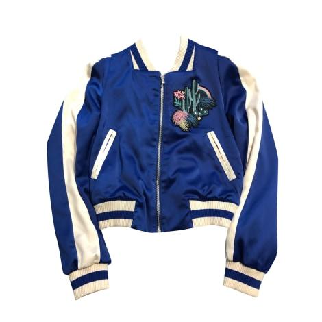 Jacket MAJE Blue, navy, turquoise