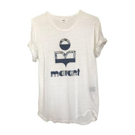 Top, tee-shirt ISABEL MARANT ETOILE Blanc, blanc cassé, écru