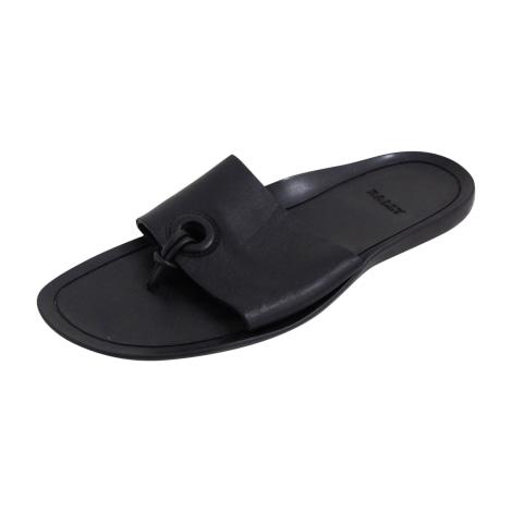 Sandales plates  BALLY Noir