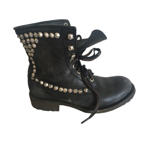 High Heel Boots ASH Black