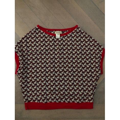 Top, tee-shirt PAUL & JOE Rouge, bordeaux