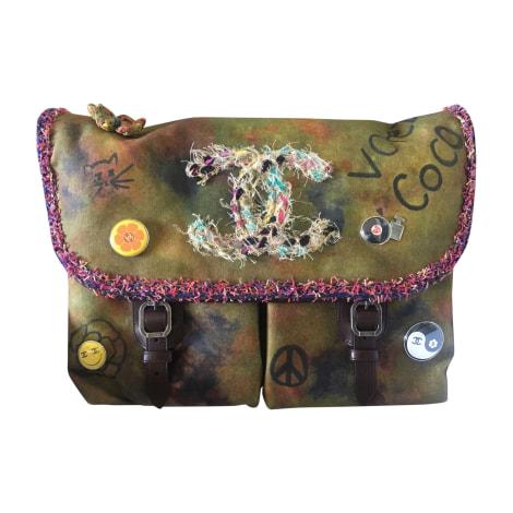 Non-Leather Shoulder Bag CHANEL Multicolor