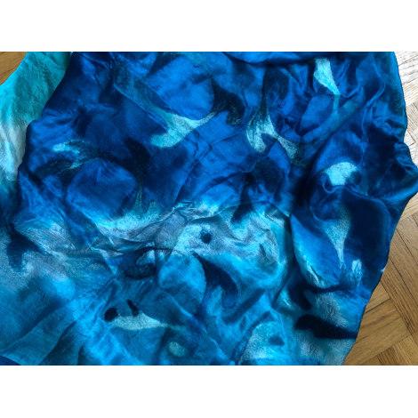 Châle CRÉATEUR INDÉPENDANT Bleu, bleu marine, bleu turquoise