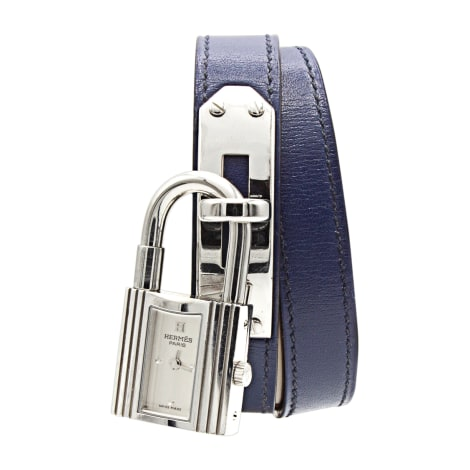 Wrist Watch HERMÈS Kelly Double Tour Blue, navy, turquoise