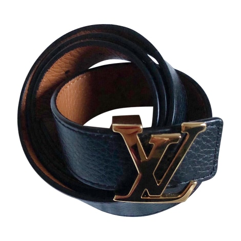 Skinny Belt LOUIS VUITTON Black