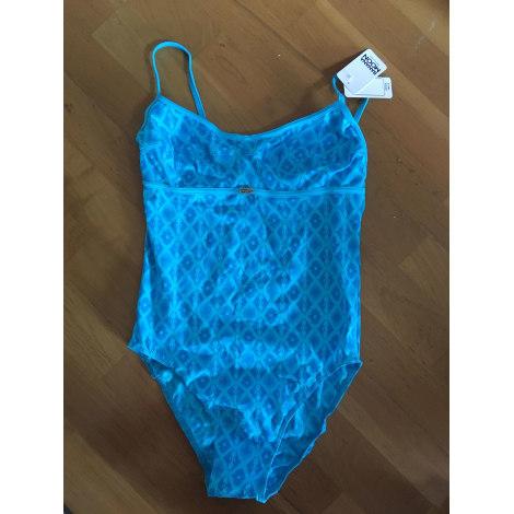 Maillot de bain une-pièce BANANA MOON Bleu, bleu marine, bleu turquoise