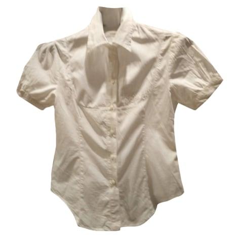 Chemisier PINKO Blanc, blanc cassé, écru