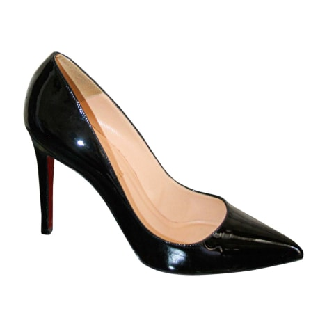 Pumps, Heels CHRISTIAN LOUBOUTIN Black