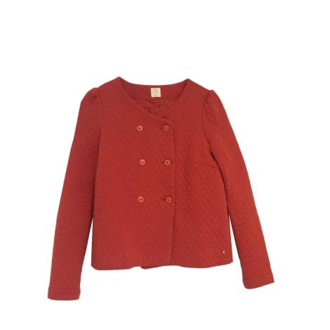 Jacket DES PETITS HAUTS Red, burgundy
