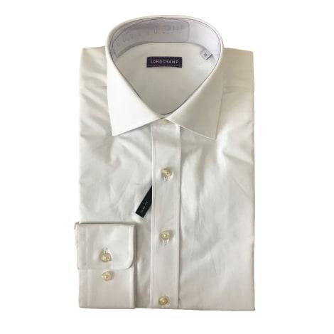 Shirt LONGCHAMP White, off-white, ecru