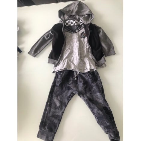 Pants Set, Outfit IKKS Gray, charcoal