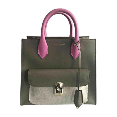 Leather Handbag BALENCIAGA Green