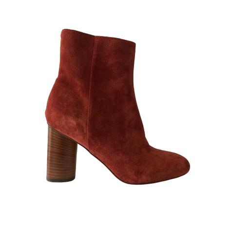 Bottines & low boots à talons JEROME DREYFUSS Rouge, bordeaux