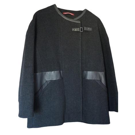 Coat COMPTOIR DES COTONNIERS Gray, charcoal