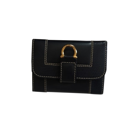 Coin Purse LANCEL Blue, navy, turquoise