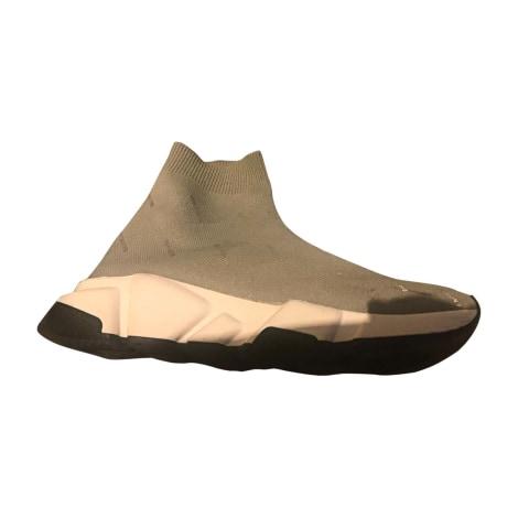 Baskets BALENCIAGA Gris, anthracite