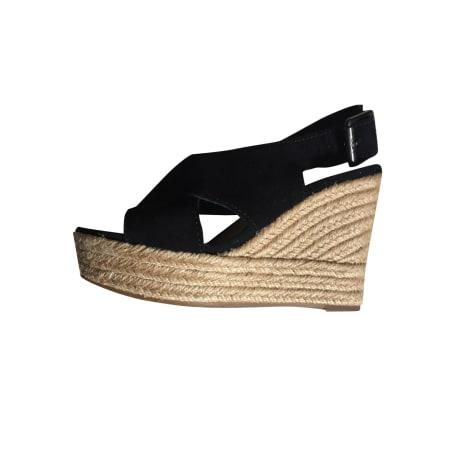 Sandales à talons UGG Noir