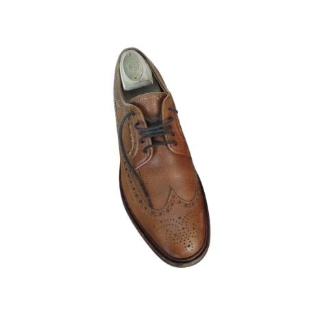 Chaussures à lacets MEERMIN Marron