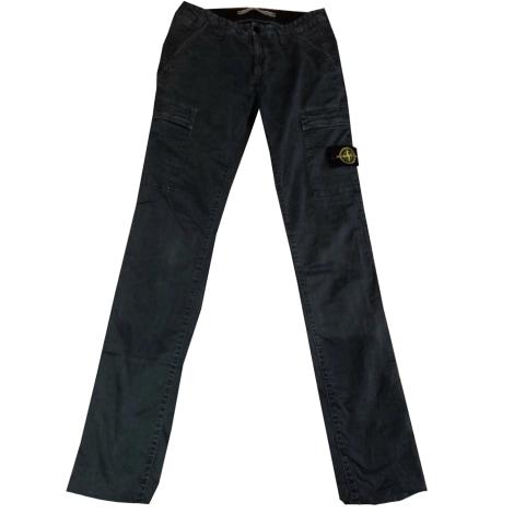 Jeans slim STONE ISLAND Bleu, bleu marine, bleu turquoise