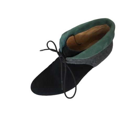 Bottines & low boots à talons SÉZANE Noir