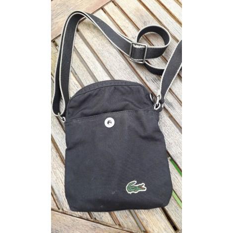 Small Messenger Bag LACOSTE Black