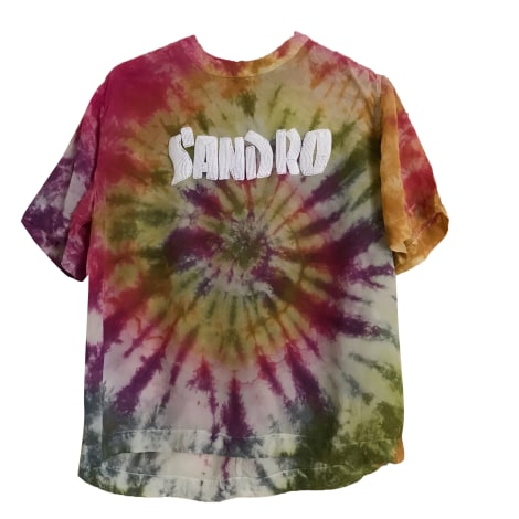 Top, t-shirt SANDRO Multicolore