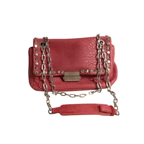 Leather Handbag ZADIG & VOLTAIRE Pink, fuchsia, light pink