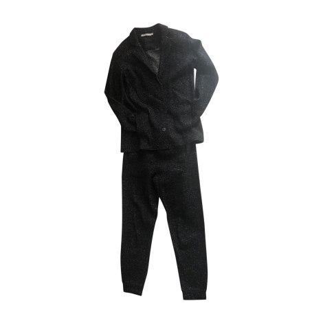Tailleur pantalon T BY ALEXANDER WANG Noir