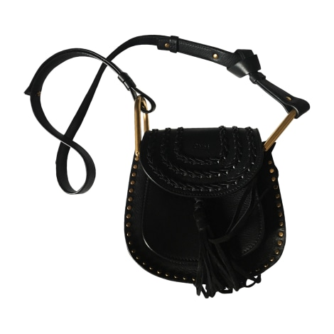 Leather Shoulder Bag CHLOÉ Black