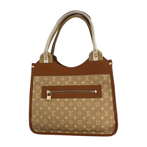 Non-Leather Handbag LOUIS VUITTON Beige, camel