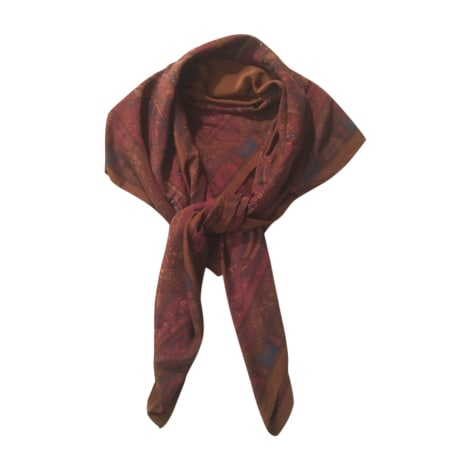 Shawl YVES SAINT LAURENT Brown