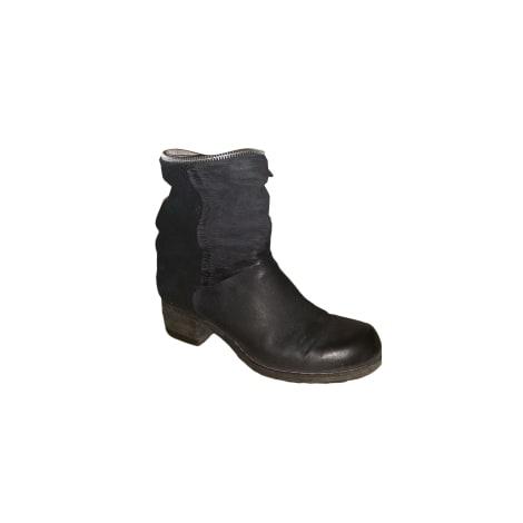 High Heel Ankle Boots AIRSTEP Black