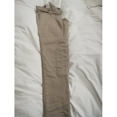 Pantalon slim, cigarette UNITED COLORS OF BENETTON Beige, camel