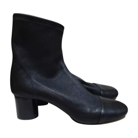 High Heel Ankle Boots ISABEL MARANT Black