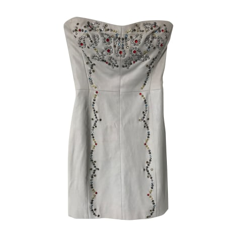 Robe bustier ISABEL MARANT Gris, anthracite