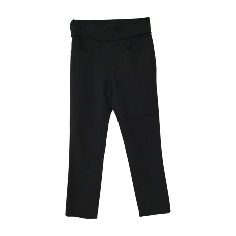 Straight Leg Pants ISABEL MARANT Black