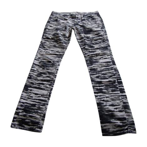 Straight Leg Pants ISABEL MARANT Animal prints