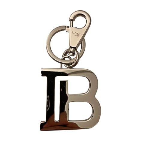 Porte-clés BALMAIN Argenté, acier