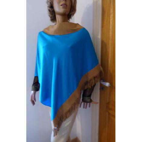 Poncho ZOEPPRITZ Bleu, bleu marine, bleu turquoise