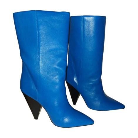 Bottes à talons ISABEL MARANT Bleu, bleu marine, bleu turquoise