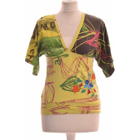 Top, tee-shirt DESIGUAL Vert