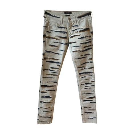 Skinny Jeans ISABEL MARANT Gray, charcoal