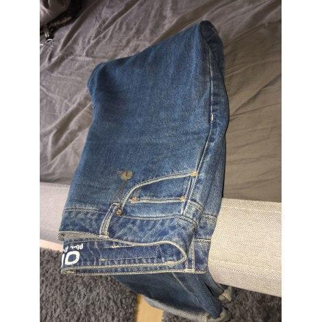 Jeans droit ONLY couleur jean bleu