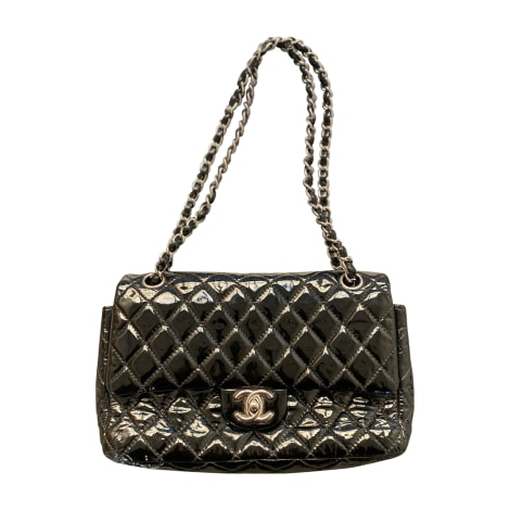 Borsa a tracolla in pelle CHANEL Timeless Nero