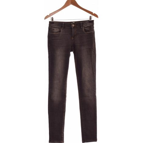 Jeans droit PROMOD Gris, anthracite