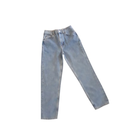 Jeans dritto MAJE Blu, blu navy, turchese