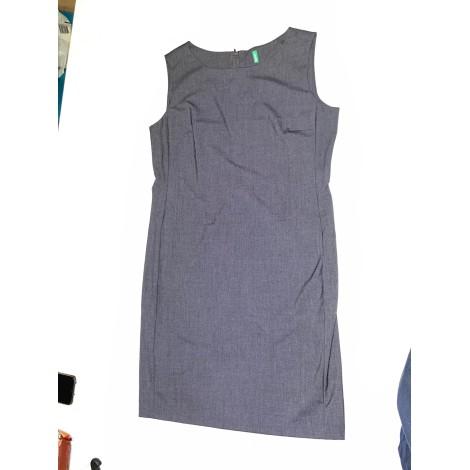 Robe mi-longue UNITED COLORS OF BENETTON Gris, anthracite
