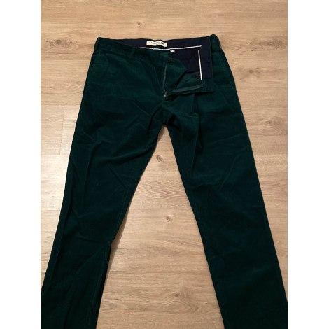 Pantalon slim LACOSTE Vert